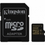 Kingston Ultimate micro SDHC 16Gb Class 10 UHS-I + ADP карта памяти (90/45 Mb/s)