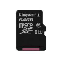 Kingston micro SDXC 64Gb Class 10 UHS-I карта памяти (45/10 Mb/s)