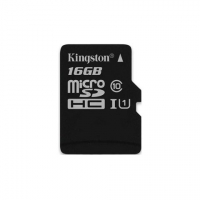 Kingston micro SDHC 16Gb Class10 UHS-I карта памяти (45/10 Mb/s)