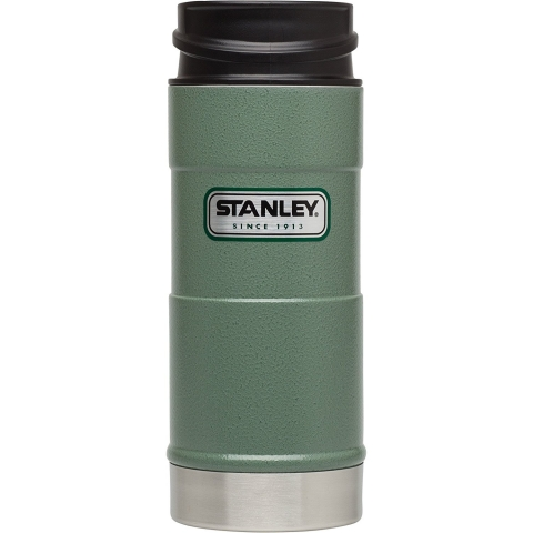 Термокружка Stanley Classic 0,35 л one hand зеленая