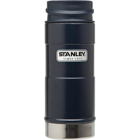 Термокружка Stanley Classic 0,35 л one hand синяя