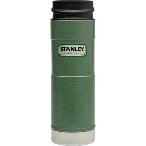 Термокружка Stanley Classic 0.47 л one hand зеленая