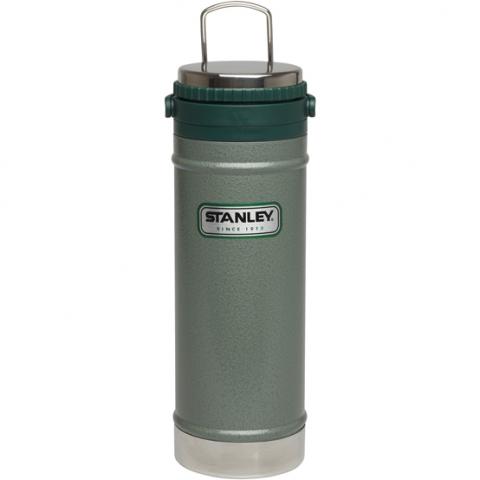 Термокружка с кофе-прессом Stanley Classic 0,47 л зеленая