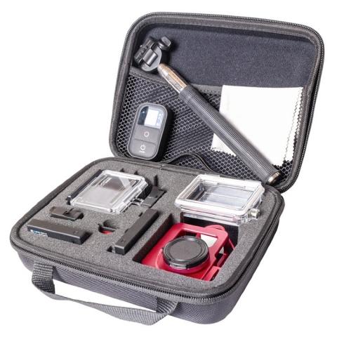 Fujimi GP-BGM полужесткий кейс для экшен-камер (средний) 22x17x6 см