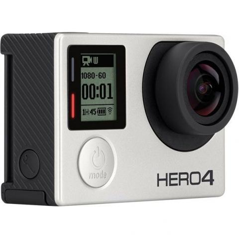 GoPro HD HERO 4 Silver Edition Adventure (CHDHY-401) экшен-камера