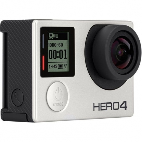 GoPro HD HERO 4 Silver Edition Music (CHDBY-401) экшен-камера