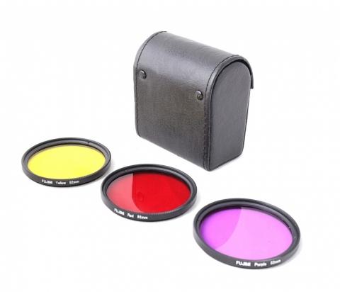 Fujimi GP 3FSRPY52 набор цветных фильтров с чехлом