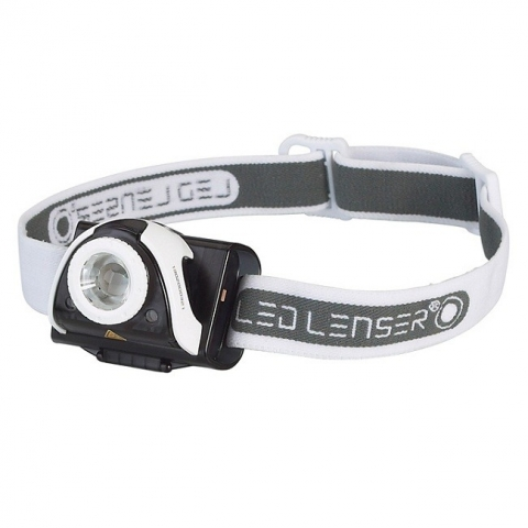 LED Lenser SEO5 Gray фонарь налобный