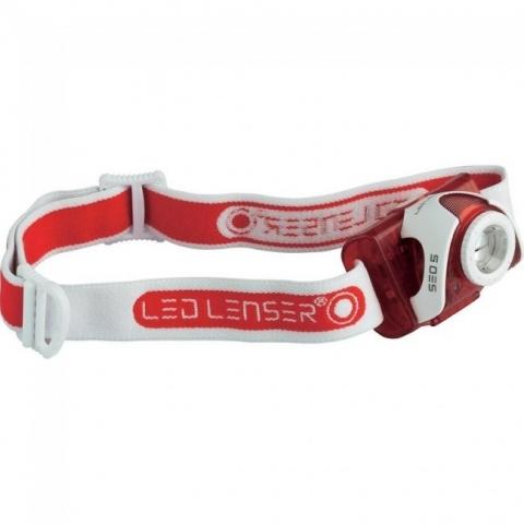 LED Lenser SEO5 Red фонарь налобный