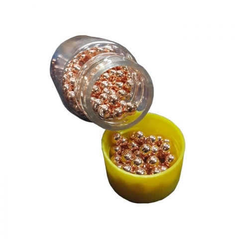 Veber Золотая пуля шарики BBs 4,5 мм медные в баночке 500 шт.