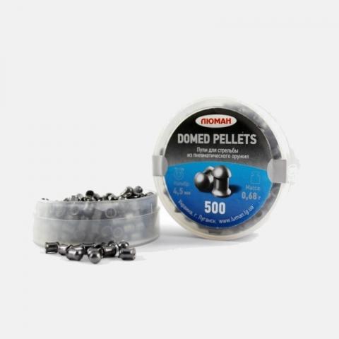 Люман Domed pellet пули 4,5 мм 0,68 г для пневматического оружия 500 шт.