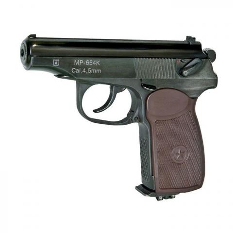 Veber МР-654К пневматический пистолет Макарова газобаллонный