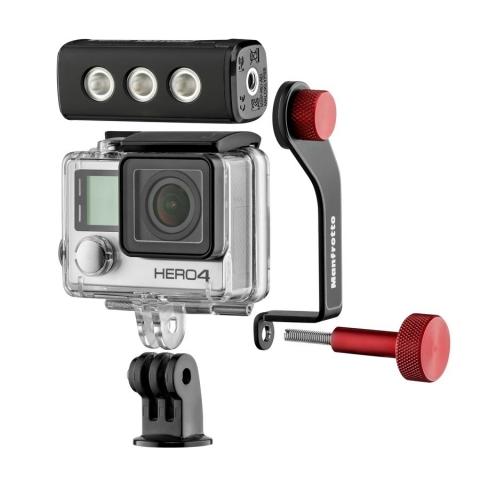 Manfrotto MLOFFROAD комплект LED свет и кронштейн для GoPro