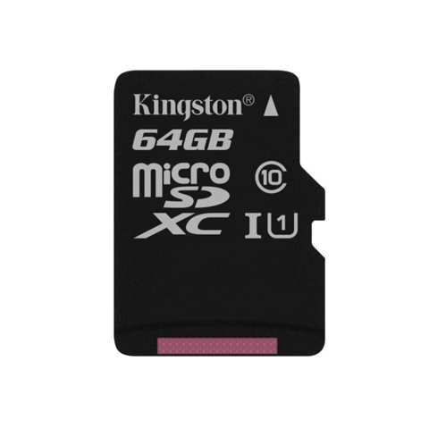 Kingston micro SDXC 64Gb Class 10 UHS-I карта памяти (45/10 Mb/s)