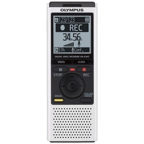Olympus VN-415PC 2Gb цифровой диктофон белый
