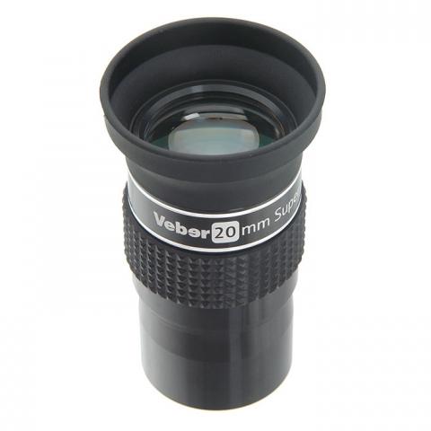 Veber 20 mm SWA ERFLE окуляр для телескопа 1,25 дюйма