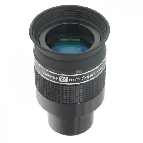 Veber 24 mm SWA ERFLE окуляр для телескопа 1,25 дюйма